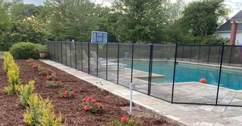 pool fence installed in Rayville, Louisiana