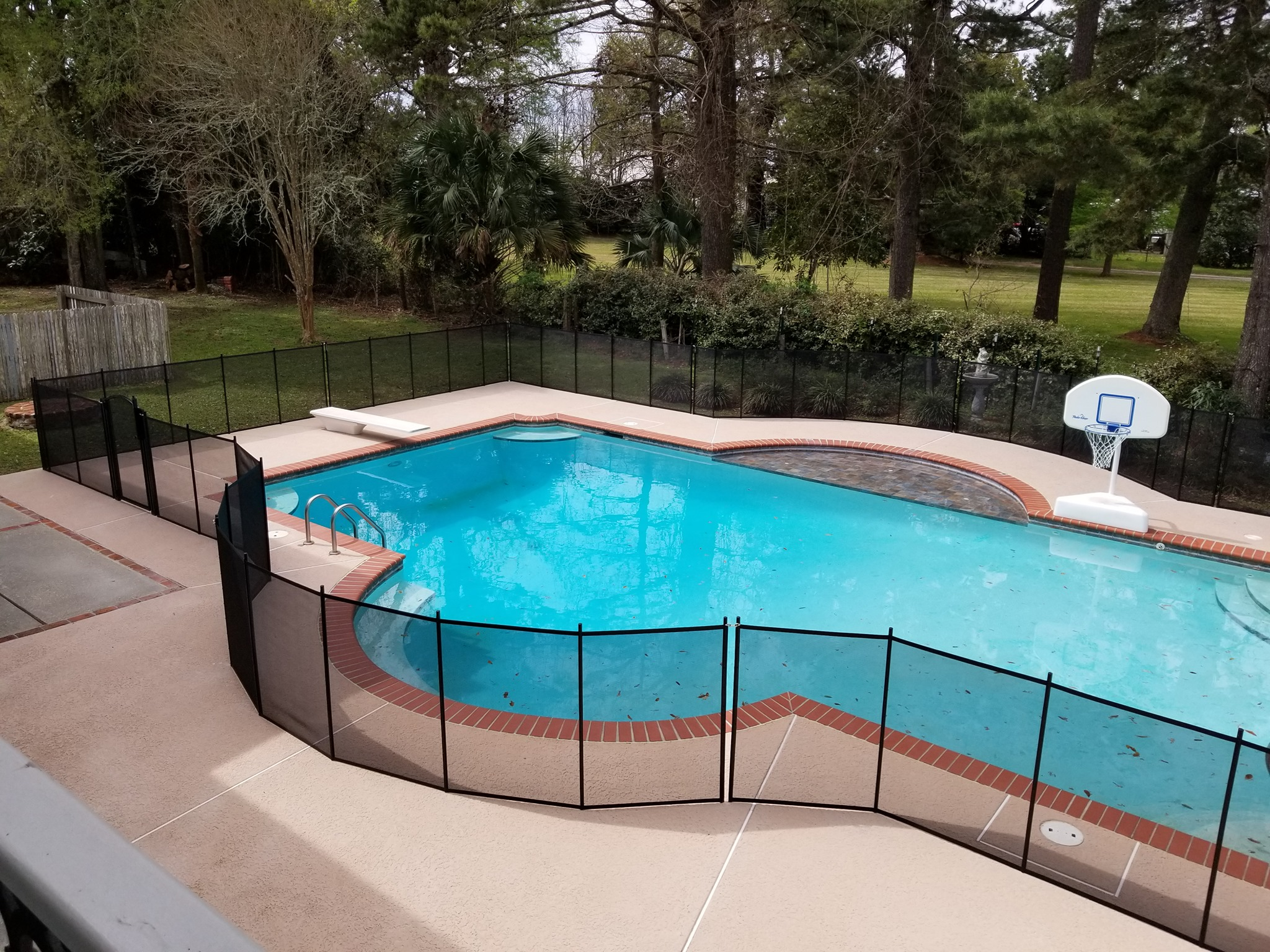 pool fence company Biloxi, MS