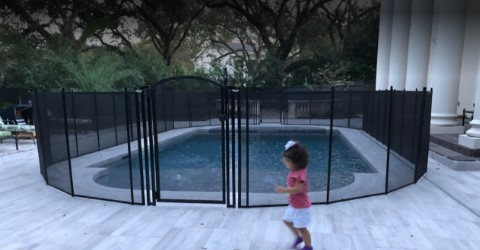 child pool safety fence in Ocean Springs, MS