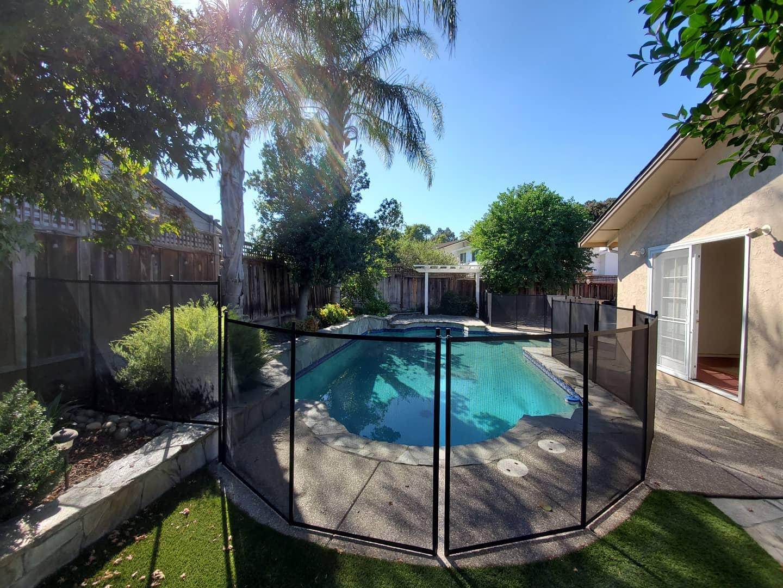 pool fence Hammond